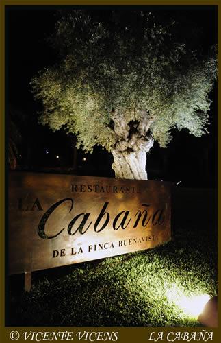 Entrada Restaurante La Cabaña