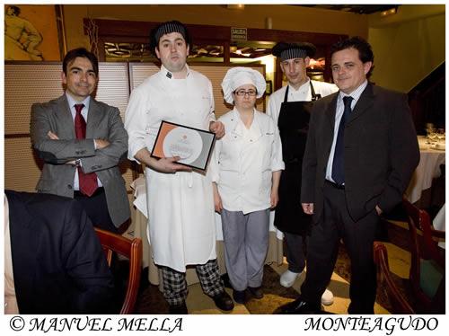 Equipo de Cocina de Restaurante Monteagudo